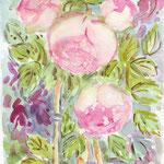 Roses anciennes (vendu) vente  reproduction FL003 - 16 €