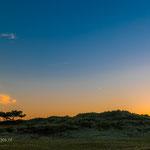 'Vuurtoren Vlieland in de avond'