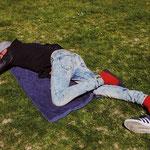 'Relaxing at Vondelpark'