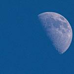 De Maan boven Vlieland 30 mei 2020 om 20:00