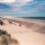 Strand Vlieland eind van de dag