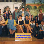 Theaterspiel 1997 - Schäferstündchen_Gruppe