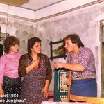 Theaterspiel 1984 - Die hölzerne Jungfrau