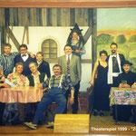 Theaterspiel 1999 - Zwei wie Hund und Katz_Gruppe
