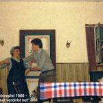 Theaterspiel 1980 - Unkraut verdirbt net