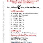 TF 2020 - Der Vampir von Münsterhausen - Flyer