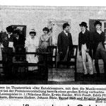 Theater 1986 - Der Entaklemmer MN-Bericht