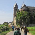 Vom Niederwalddenkmal geht es zum Kloster der Heiligen Hildegard nach Eibingen