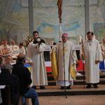 Weihbischof Dr. Thomas Löhr würdigt die Pilgerreisen in Europa und und spricht beispielhaft über die Pilgerreise nach Santiago de Compostela.