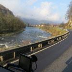 Rückfahrt über gute Straßen in Rumänien, Österreich und Deutschland