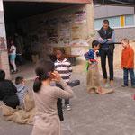 """Besuch bei der """"Arche"""" Griesheim, die Freizeitgestaltung für Kinder des Stadtteils durchführt."""