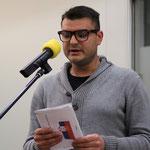 Dejan aus Serbien stellt ein Programm der Versöhnung vor.