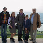 Die Gruppe aus der Ukraine mit Peter Hoffmann