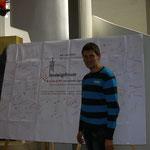 Nazariy aus der Ukraine hatte Probleme an der Grenze und traf verspätet ein.