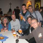 Familie Pfeifer mit den serbischen Gästen