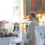 katholischer Festgottesdienst mit Pfarrer Laszlo Aron