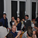 Die albanische Gruppe wird vorgestellt.