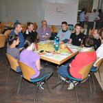 Die rumänische Gruppe kommt aus unserer Partnergemeinde Toplita.