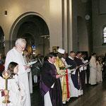 Die Geistlichen der verschiedenen Gemeinden