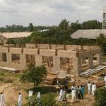 Bau eines Gebäudes für die Bibliothek sowie für einen Spielraum für die Seminaristen