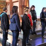 Die zweite polnische Gruppe beschreibt den Weg von ihrer Heimatstadt Biechowo zur Schwarzen Madonna.