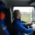 Fahrer Peter Schwartz