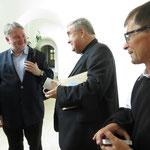 Gespräch in Alba Julia mit Erzbischof Jukubinyi György-Miklos