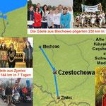 Die Sternwallfahrt ist die bedeutendste jährliche Wallfahrt in Polen.