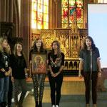 Die polnische Gruppe aus Zywiec stellt die Sternwallfahrt zur Schwarzen Madonna in Jasna Góra / Tschenstochau vor.