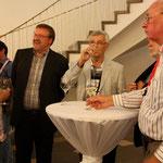 Frau Zimmermann und die Herren Schultejens, Blessing, Dr. Dietz und Krause