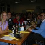 Serbische Teilnehmer mit ihren Gasteltern