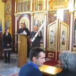 Übergabe der Osterkerze in der griechisch-orthdoxen Gemeinde