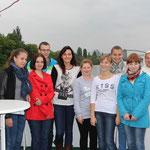 Die polnische Gruppe aus Biechowo