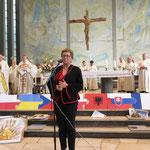 Barbara Schiller von der muttersprachlichen polnischen Gemeinde in Frankfurt