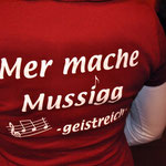 """Werbung für die Band """"- geistreich -"""" aus Nied"""