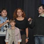 Die Ukrainische Student/innen stellen sich ebenfalls mit einem Lied ihrer Heimat vor.