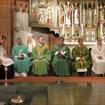 Der Abschlussgottesdienst in der Pfarrkirche Mariä Himmelfahrt