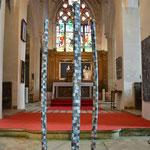 Hommage à Bacchus- 3 x 30 x 30 x 210 cm