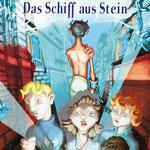 """Cover für """"Akademie der Abenteuer - Band 3"""" von Boris Pfeiffer, Graphiti-Verlag, Berlin."""