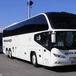 Unser Bus - Danke an Brand Reisen