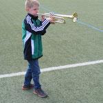 Unser Nachwuchstrompeter