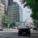улица Бутырский Вал перед выходом на пл. Тверской заставы (Белорусский вокзал)