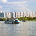 Марьино, Москва река. Вид на Братеево