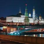 Кремль предновогодний