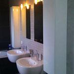 Hoogglans witte badkamerkastjes