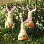 """Boys Choir-bunnies"" height 18 cm"