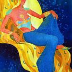 """""""Sleeping Sun"""" 49Х71"""