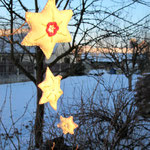 """Christmas Star"" height 40 cm"