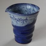 北海道ブルー 冷酒片口 87×100  ¥ 3,780