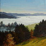 Nebelmeer zum Blauen /Gilgengut / Schwarzwald